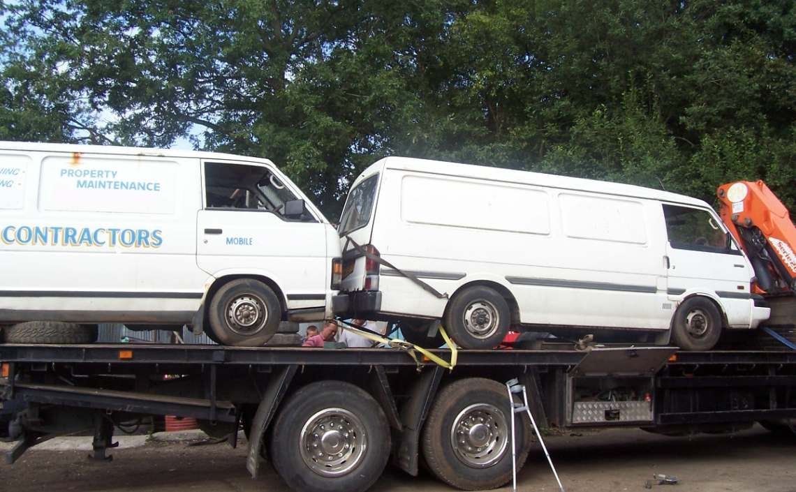 Scrap Car Transport Hampshire